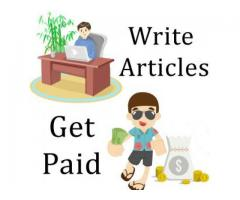 blog writing and article writing jobs