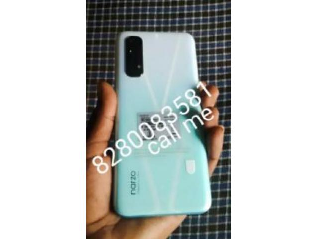 Good Condition second hand mobile real me narzo