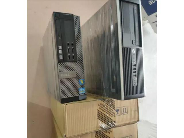 used computers   DELL AND HP I3 2ND GENERATION 320.GB HDD 4GB RAM DVD 1 YEAR WARRANTY
