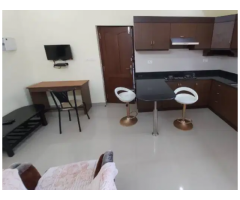 1 BHK fully furnished flat for rent in Kochi AC apartment near panampally nagar