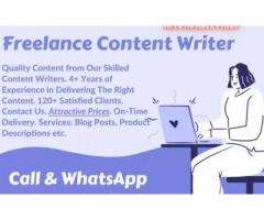 freelance content writer jobs