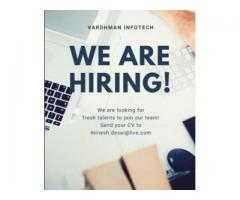 Candidate with web knowledge and good eye jobs for web designer