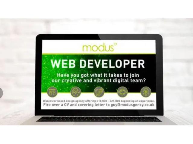 ₹ 15000 - 20000 Monthly | Web developer required