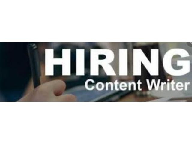 best content and copy writing jobs