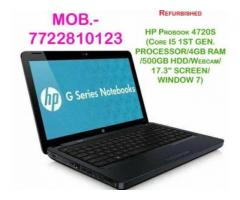 Used HP probook 4720S-CORE I5(Made in Japan) BIG SCREEN
