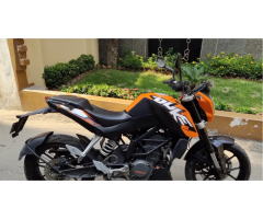 Sale Second hand bike KTM Duke-200cc