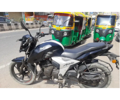 Second hand modified bikes for sale like TVs apache 160cc double disc