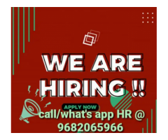 ₹ 8000 - 10000 | Monthly Male /female voice process job