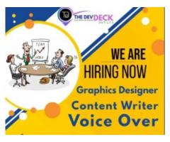 content writer vacancy for freshers