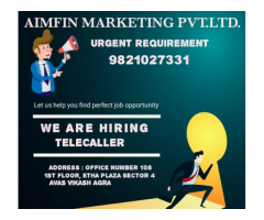 ₹ 6000 - 20000 | Monthly telecaller jobs for every one
